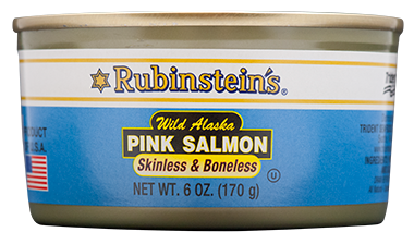 Rubinstein's® Pink Salmon Skinless & Boneless 12/6 oz