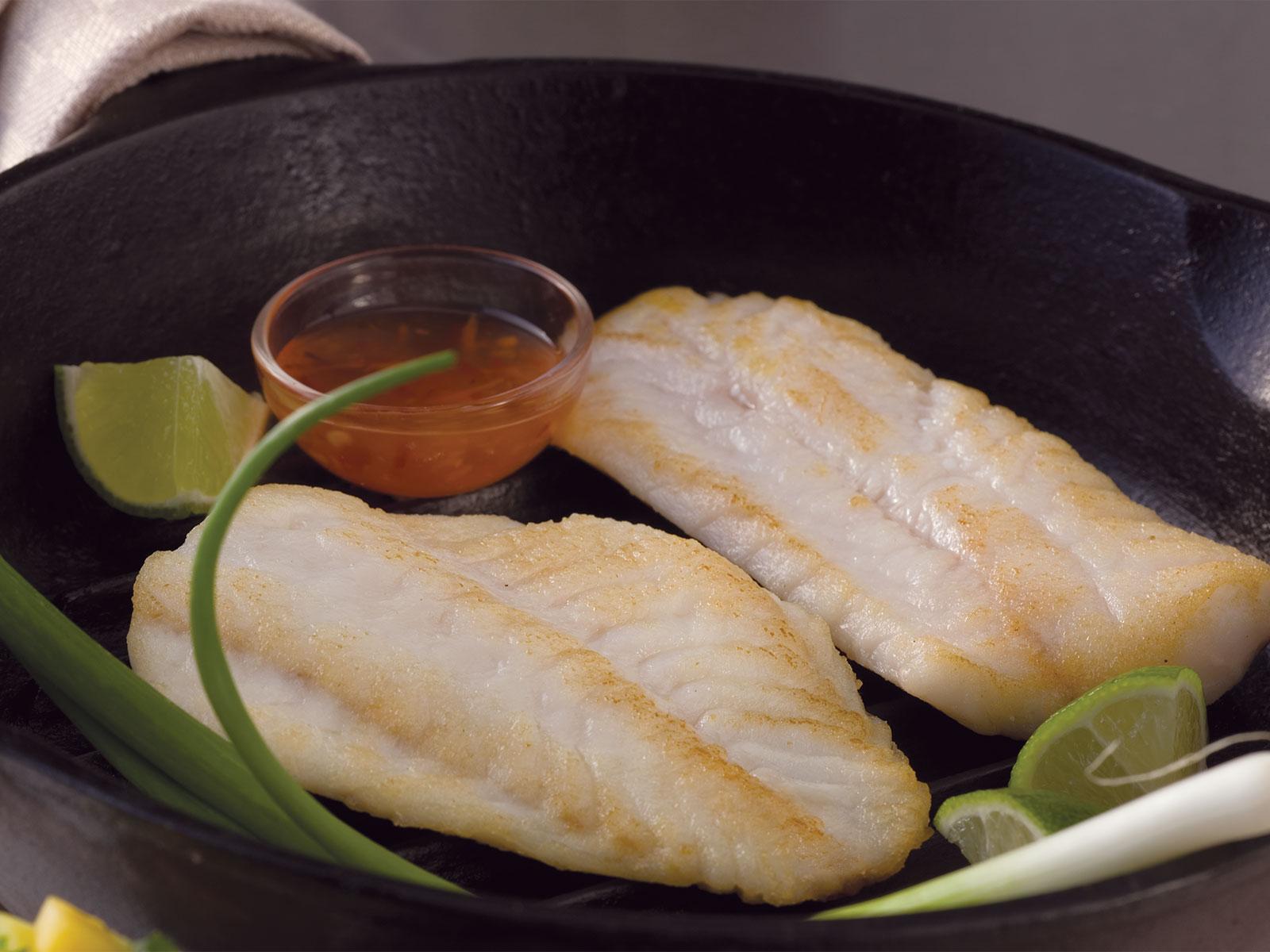 Pacific Rockfish Fillets  2-4 oz IQF, Deep Skinned, Boned 1/10 LB 411316