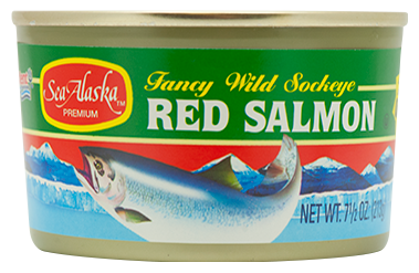 Sea Alaska® Red (Sockeye) Salmon 12/7.5 oz