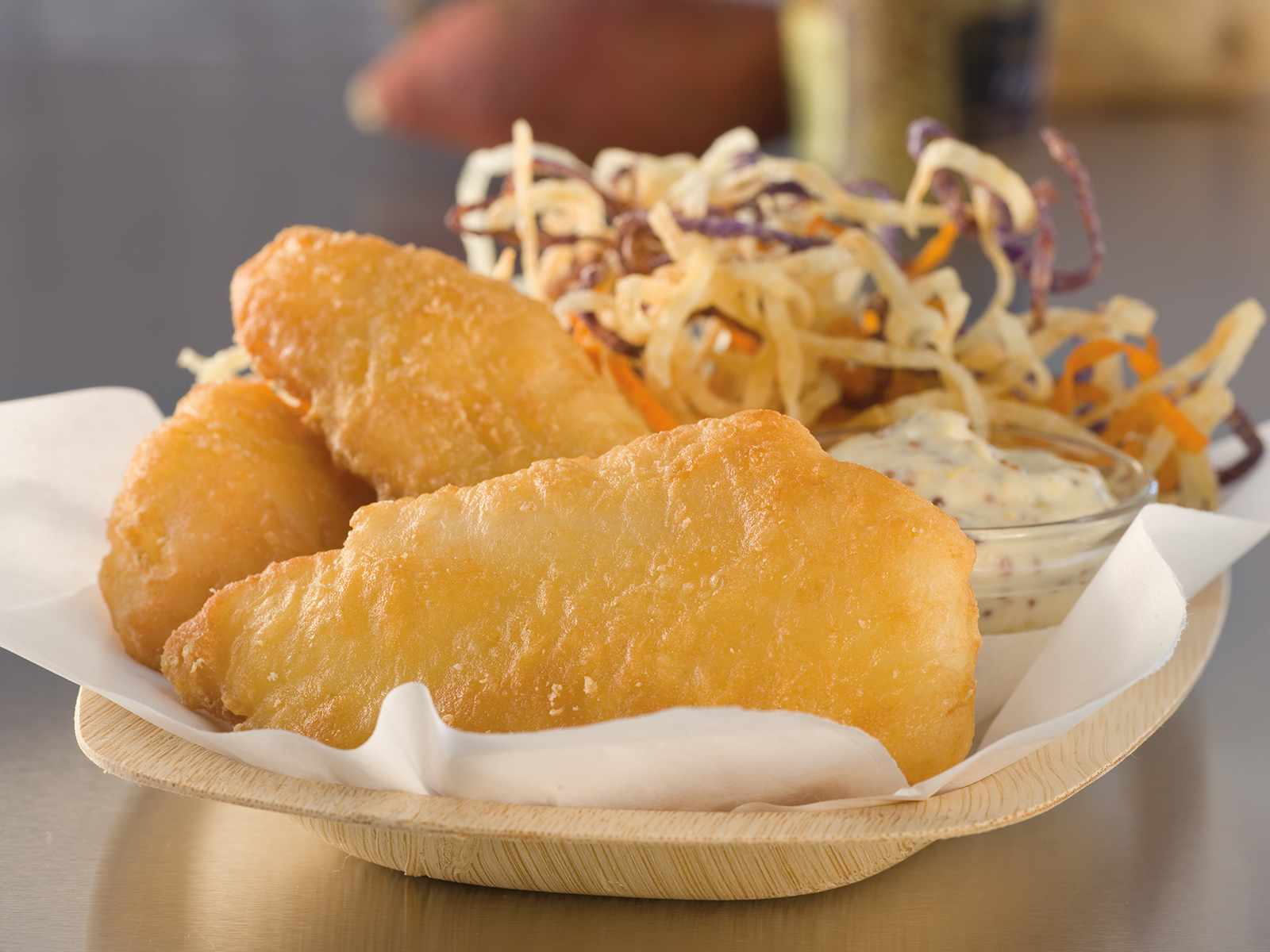 PubHouse® Battered Cod 3-4 oz. (1/10 lb) 435706