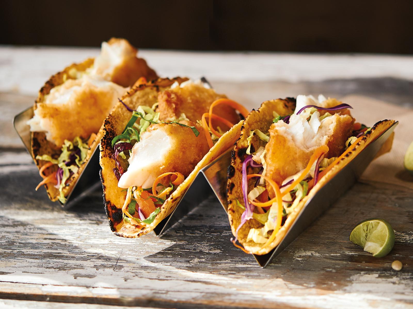 Smokin' Fish Tacos & Wedges