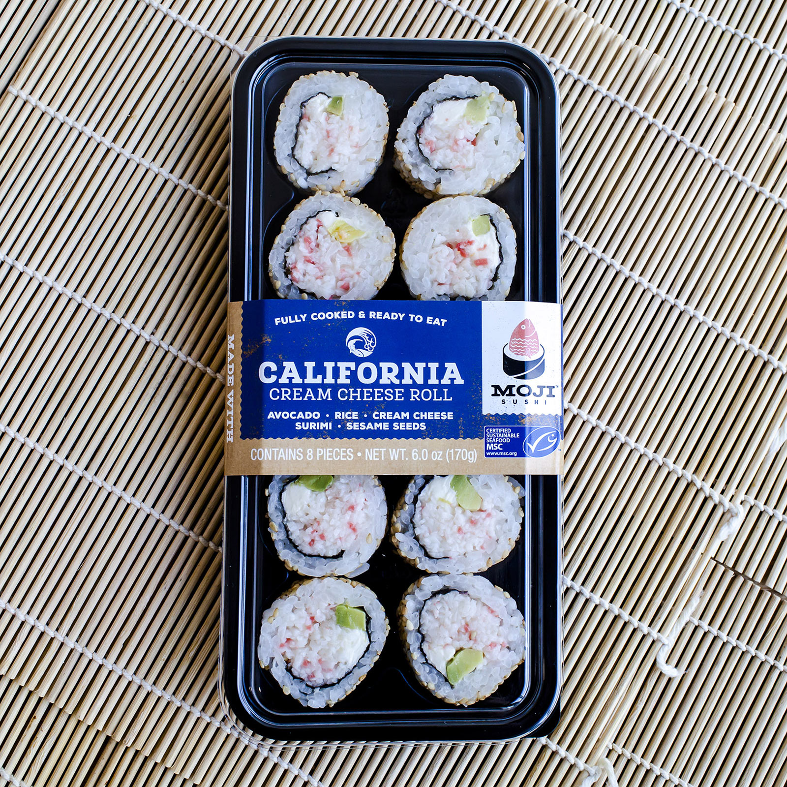 MOJI™ Sushi California Cream Cheese Roll 35825