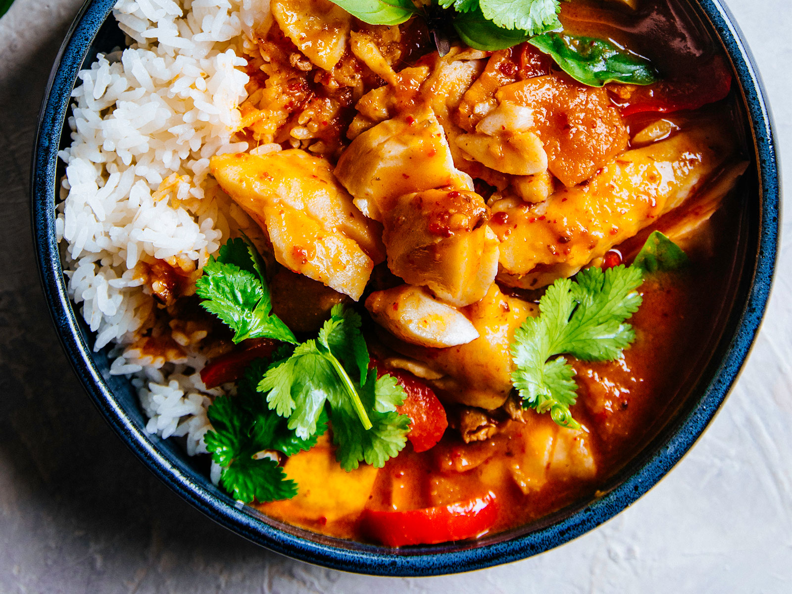 Wild Alaska Pollock Thai Red Curry