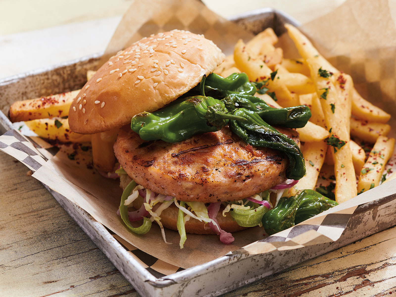 Alaskan Salmon Burger 5 oz 424785