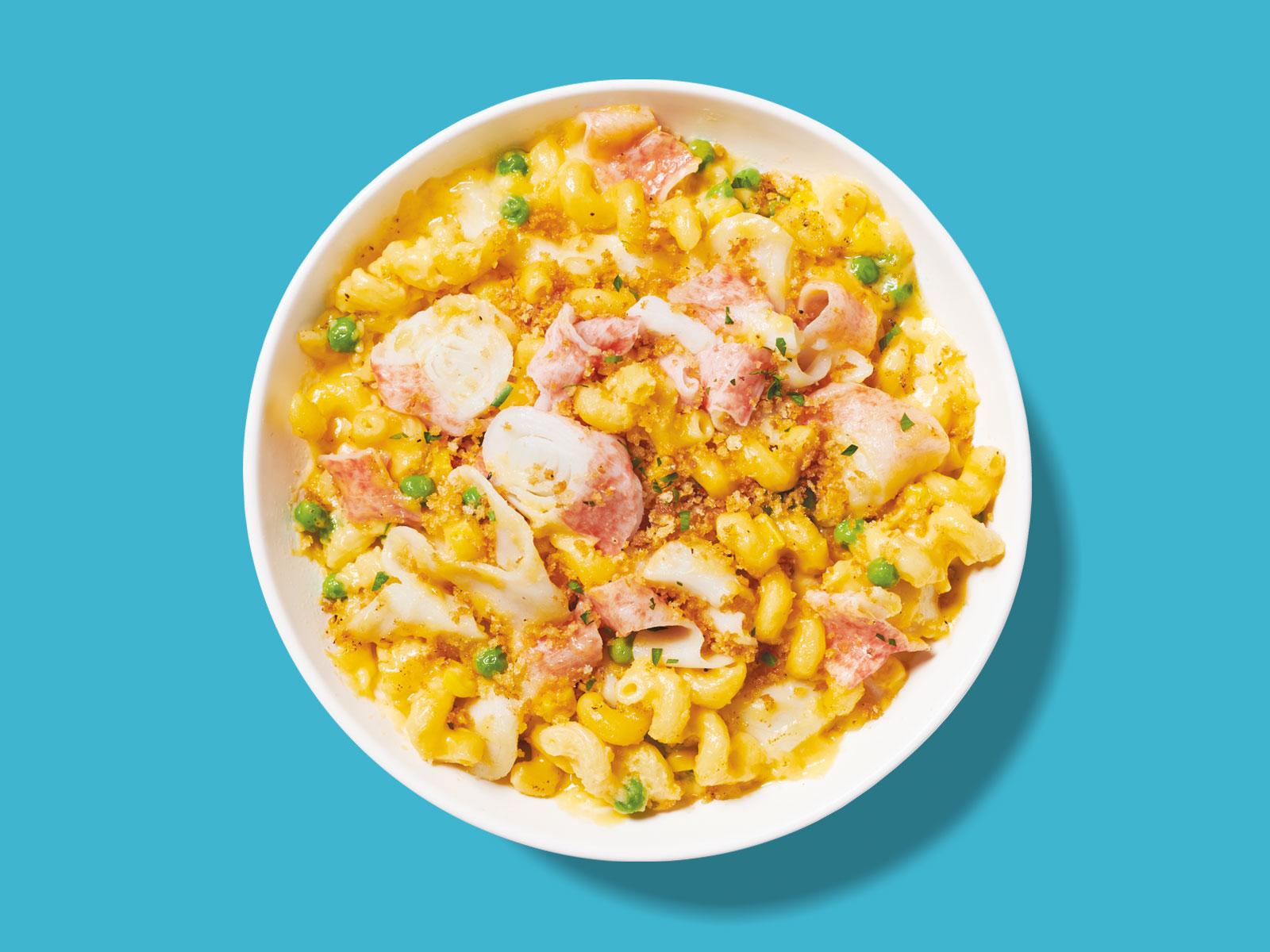 SEA LEGS® Cheesy Surimi Pasta Casserole