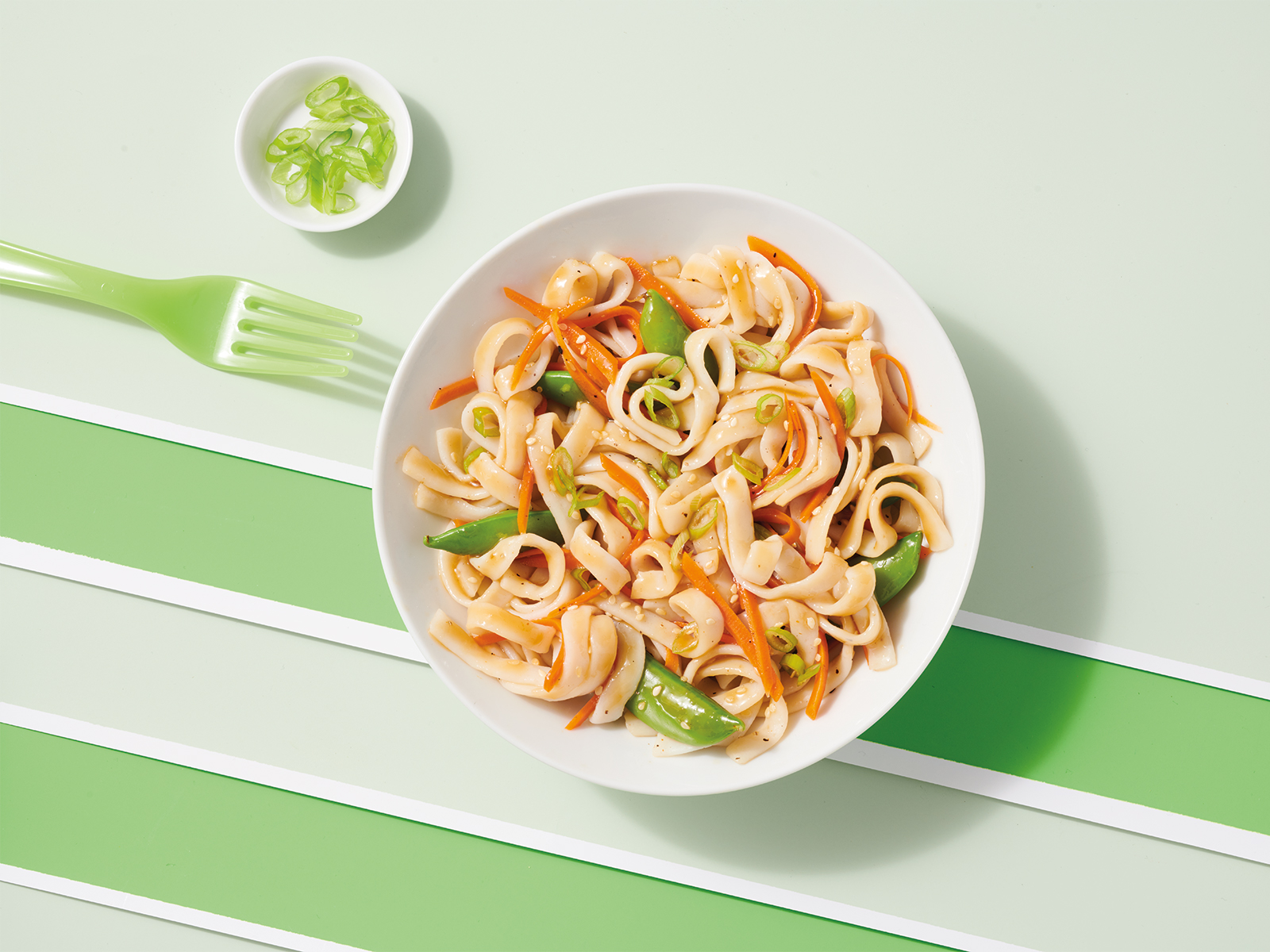 Protein Noodles with Sesame Ginger Dressing