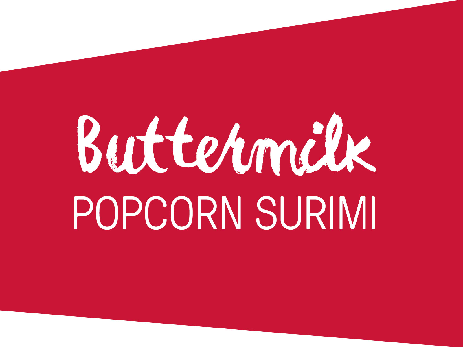 SEA LEGS® Buttermilk Popcorn Surimi