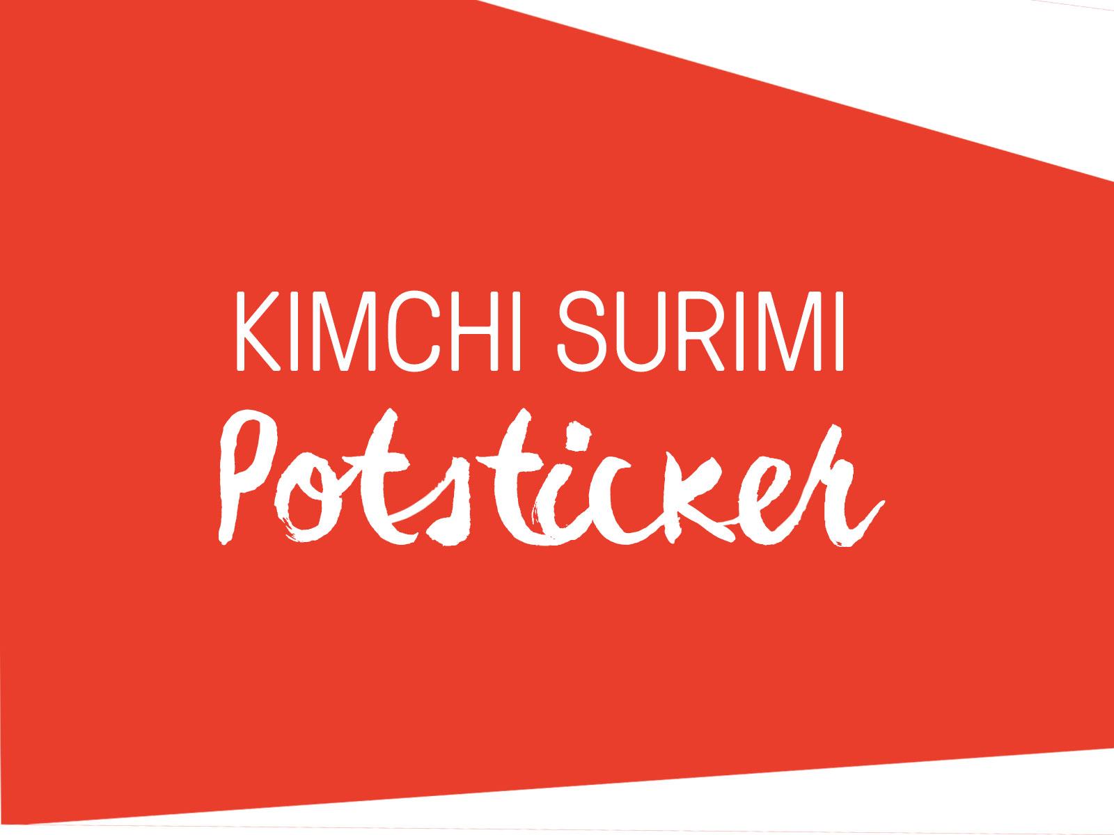 SEA LEGS® Kimchi Surimi Potsticker
