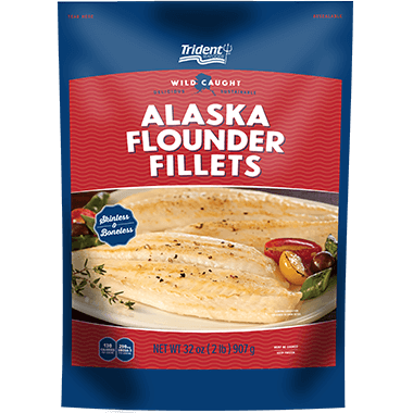 Trident Seafoods® Pacific Flounder Fillets 2 lb