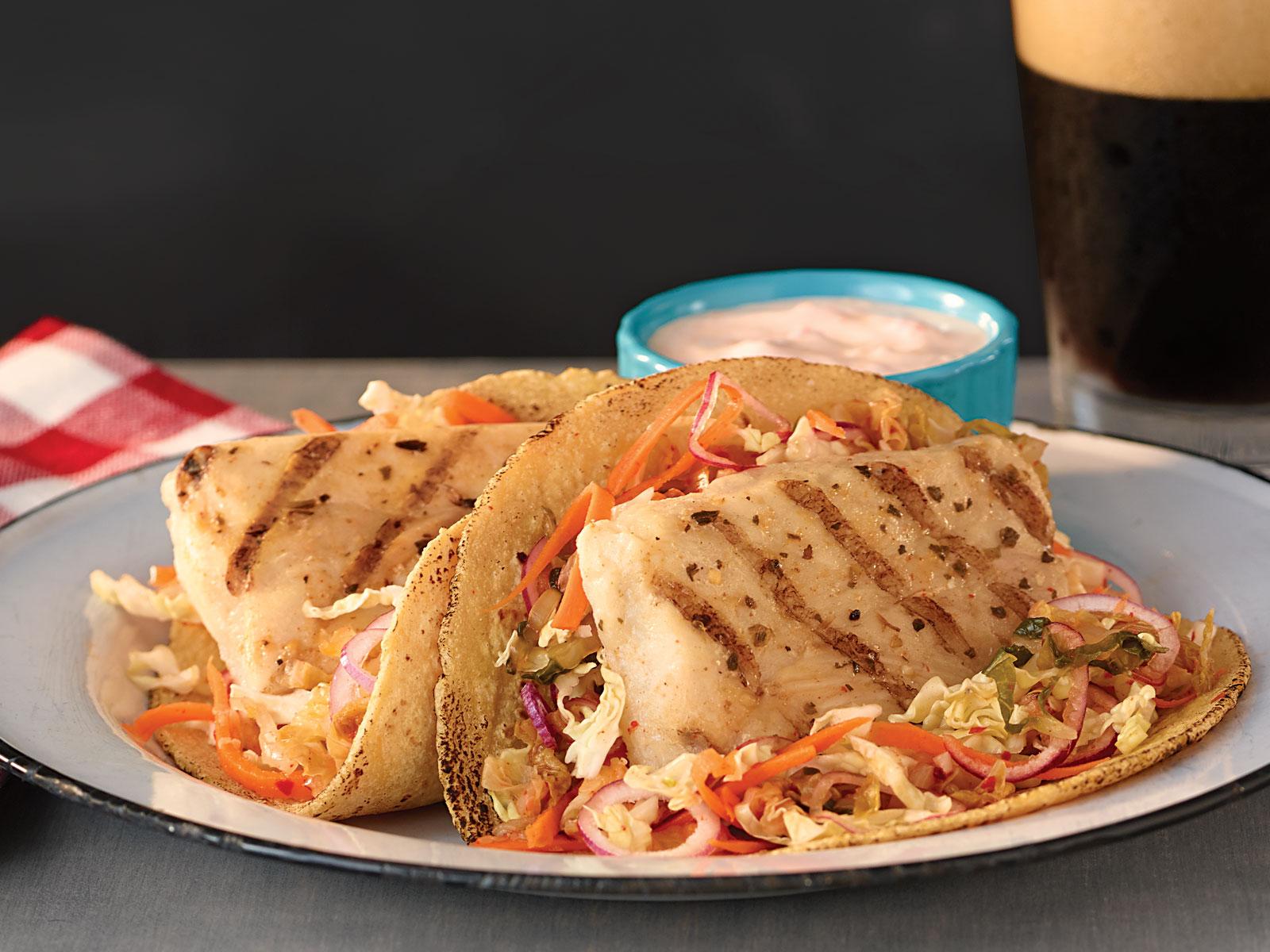 Redi Grilled™ Wild Alaska Pollock Kimchi Tacos