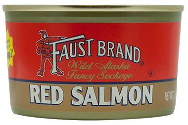 Faust Brand® Red (Sockeye) Salmon 7.5 oz